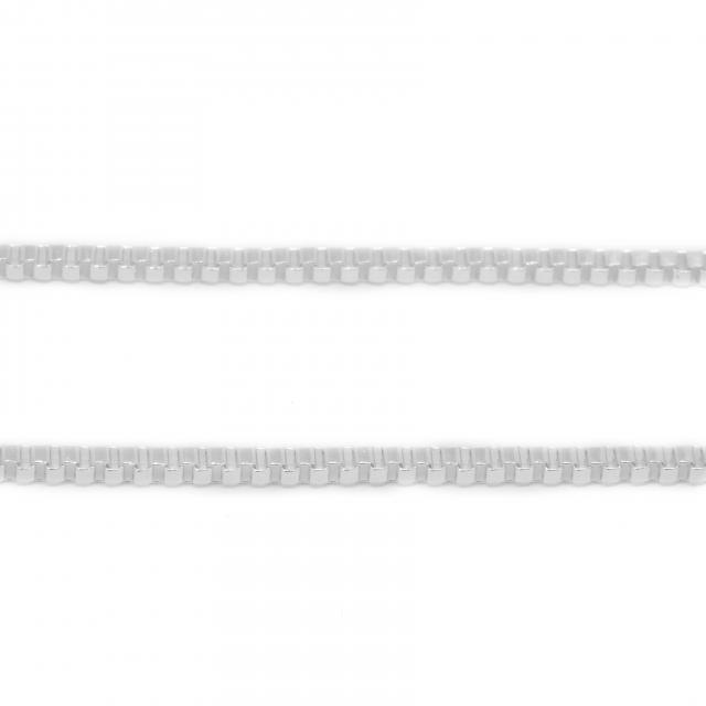 Cadena Acero Blanco Veneciana